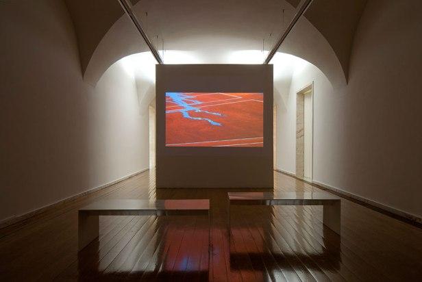 Rui Calçada Bastos, vista da exposição À luz sincera do dia no Museu de Arte Contemporânea de Elvas. Fotografia da exposição: Alberto Mayer.