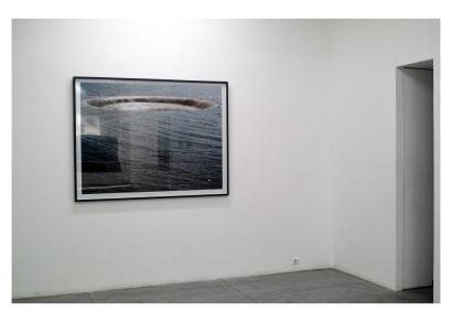 Nuno Cera, vista da exposição (pormenor) 'Alpha Béton'. Cortesia do artista.