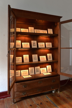 Vista geral da exposição de Carlos Correia no Armário, Lisboa. Cortesia do artista e Armário.