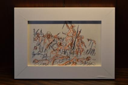 (pormenor) vista da exposição de Carlos Correia no Armário, Lisboa. Cortesia do artista e Armário.