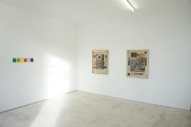 """vista da exposição """"La Curée"""" de Fernando Marques de Oliveira na Kubikgallery, Porto. Cortesia do artista e Kubikgallery."""