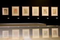 Vista da exposição Almada Negreiros: O que Nunca Ninguém Soube que Houve. Museu da Electricidade, Lisboa. Cortesia da Fundação EDP.