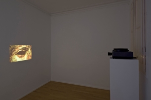 André Romão, Dead Blink, 2014 Temporized 35 mm. slide projection, 81 slides. Photo by Roberto Ruiz Arguedas. Courtesy of the artist and The Green Parrot.