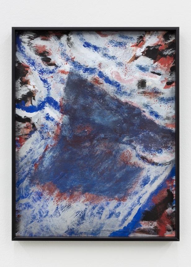 Gabriel Lima, Hanoi, Hanoi, 2015. 31 x 24, guache em papel. Galeria Múrias Centeno, Lisboa. Fotografia Bruno Lopes. Cortesia do artista e Galeria Múrias Centeno.
